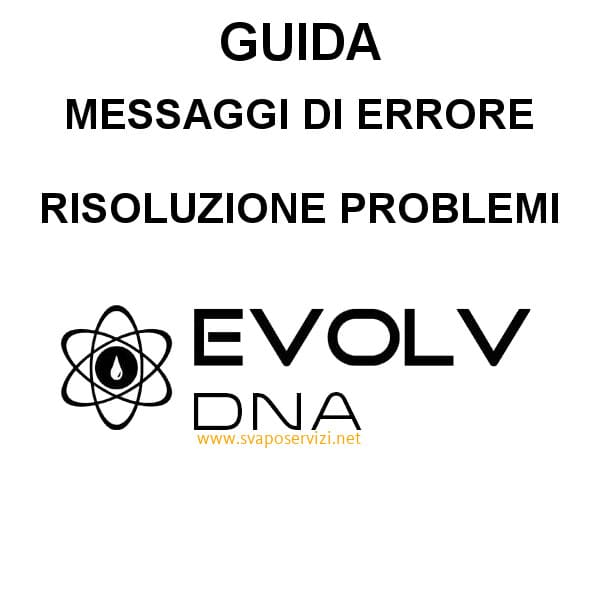 FAQ – Problemi e risoluzioni Chip DNA
